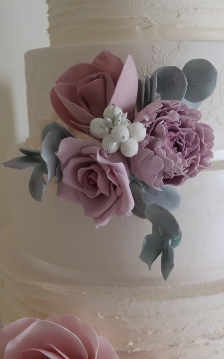 Sugar craft flowers course